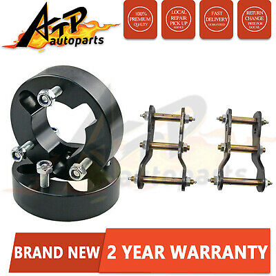 "AU159 • Buy 2"" Lift Kit For Navara D40 05-15 25MM Front Strut Spacer & Rear Extended Shackle"