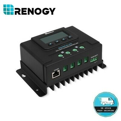 Renogy Rover Elite 20A MPPT Solar Regulator 12V 24V Battery Charge Controller • 75.99£