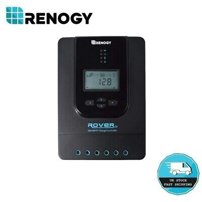 Renogy Rover Li 30A MPPT Solar Charge Controller Auto 12V 24V Battery Regulator • 89.99£