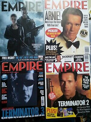 Empire Magazine 27/63/170/311 Arnold Schwarzenegger Collection • 7£