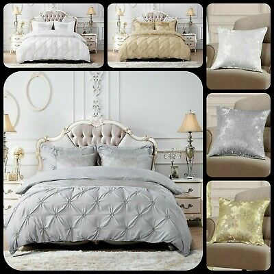 $ CDN56.23 • Buy Luxury Duvet Quilt Cover Bedding Set With 2 Pillow Cases Double King Super King