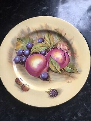 Aynsley Orchard Fruit Plate • 10£