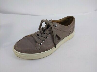 £11.34 • Buy Sofft Women's Sanders Gray Leather Lace Up Sneakers Shoes Size 7.5 Taupe 0003608