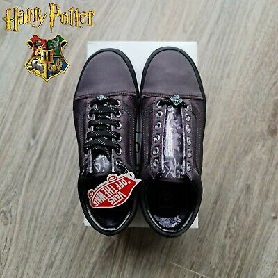Harry Potter Shoes Vans Old Skool Deathly Hallows Trainers UK 7 Rare Collection • 84.75£
