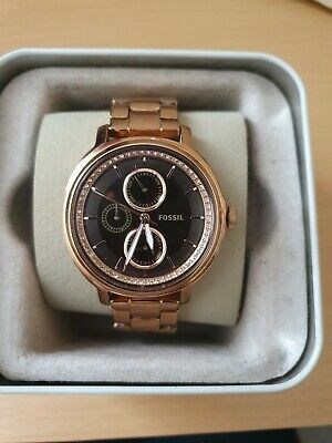 View Details Womens Rose Gold Fossil Watch • 30.00£