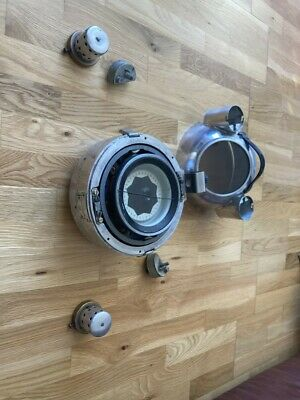 Large Original Vintage Gimbal Ships Compass Russian Maritime Marine Boat • 130£