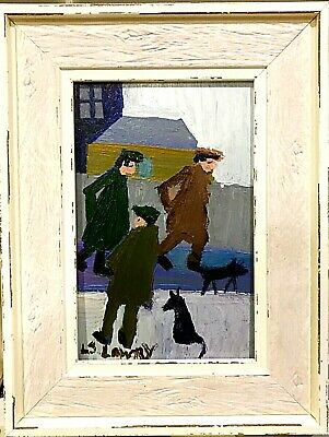 L.S. Lowry - Framed Oil Painting • 18£