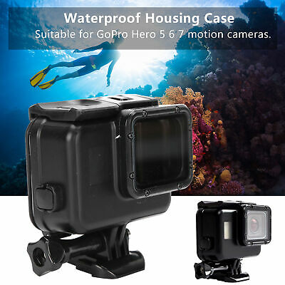 $ CDN18.14 • Buy Waterproof Protective Housing Case Replaceable Cover For GoPro Hero 5 6 7 Camera