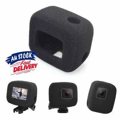 AU11.55 • Buy With Gopro Hero 7/6/5 Noise Windproof Case Compatible Reduction Cover Wind Foam