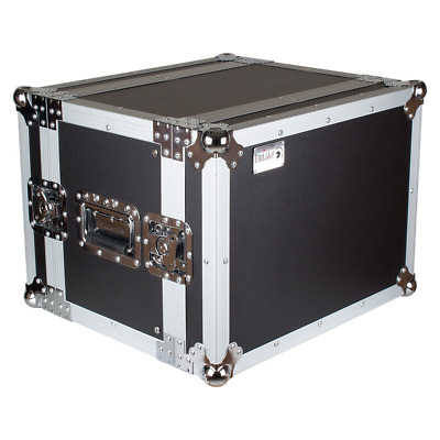Trojan RC8U-S - 8U Shallow Rack Flight Case • 68.64£