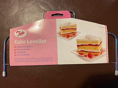 £3 • Buy Tala Cake Tortes Leveller Splitting Cutting Slicer Layers With Adjustable Wire