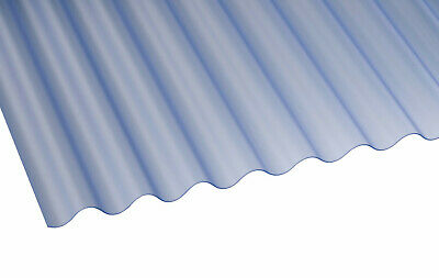 £178.99 • Buy 0.8mm Clear Mini Plastic Corrugated Roofing Sheet, 662 Wide, Corolux