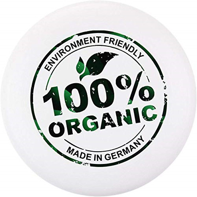 Eurodisc 175g Ultimate Frisbee Flying Disc 100% ORGANIC MATERIAL - WHITE • 19.44£