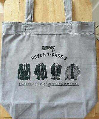 PSYCHO-PASS 3 Daily Tote Bag • 10£