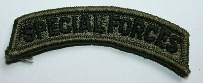Genuine Us Army Issue Paintball Special Forces Subdued Tab Insignia Cloth • 2.50£