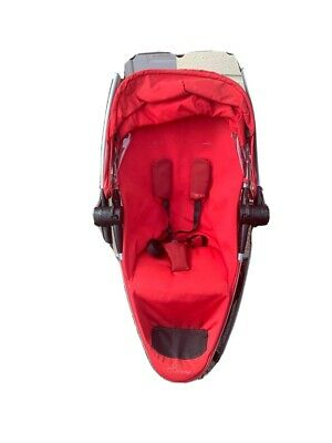 Quinny Zapp Xtra Rebel Red Travel System Single Seat Stroller • 42£