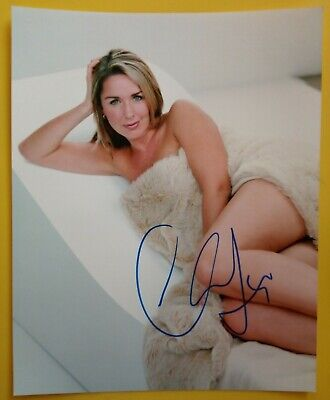 £14.99 • Buy CLAIRE SWEENEY Hand Signed 10 X 8 Photo Autograph Loose Women Brookside Actress