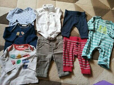 0 To 3 Months Baby Boy Clothes Bundle • 5.99£