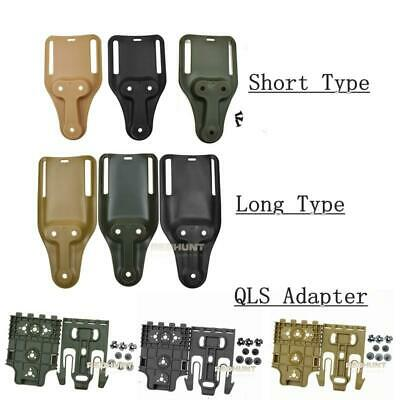 $ CDN17.38 • Buy New Safariland Belt Loop Holster Mid Ride Tactical Airsoft Clip Mount Drop Adapt