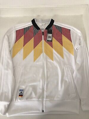 Adidas Germany Football Track Top - 2018 World Cup - Deutschland - Size Medium • 34.99£