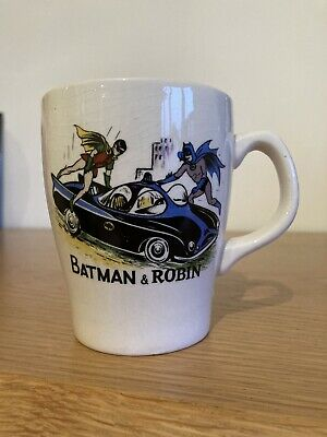 Batman & Robin 1966 Washington Pottery Mug Cup Rare Vintage • 9.99£