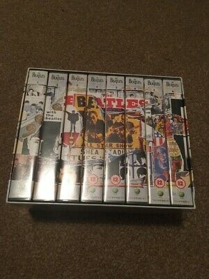 The Beatles Anthology 8 X PAL VHS Video Set • 10£