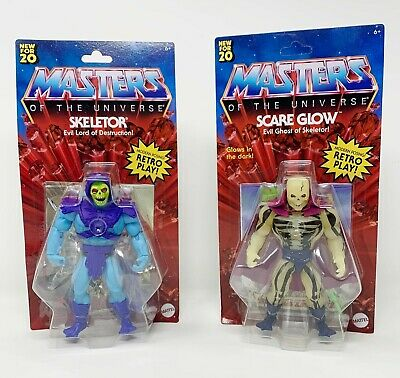 $60 • Buy Masters Of The Universe Origins SCARE GLOW + SKELETOR 2020 IN HAND