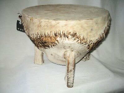 £125 • Buy AUTHENTIC African Zulu Djembe Drum Table Music Interior Design GIFT