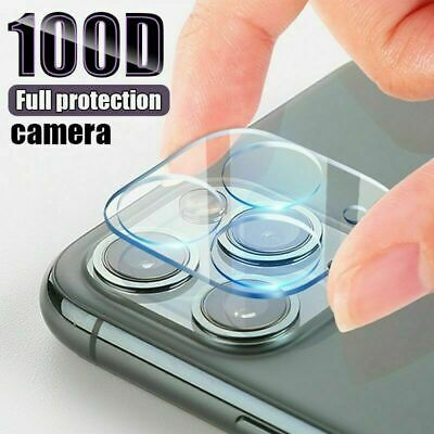 9H Camera Lens For IPhone 12, 11 Pro MAX Case Protector Tempered Glass Cover • 2.95£