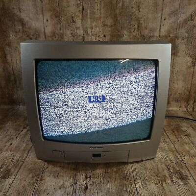 """Goodmans CRT TV Television Retro Gaming TV K1405T 14"""" Screen With Remote • 34.99£"""
