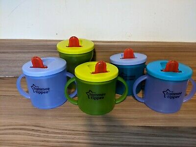 Tommee Tippee Beaker Job Lot X5 • 2.99£