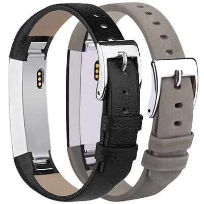 AU9.45 • Buy LT_ For Fitbit Alta  Genuine Leather Watch Replace Band Wrist Strap Adjustab