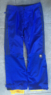 Adidas Riding Snowboard Pant - Active Blue/Collegiate Gold - Size M • 30£