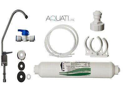 £18.95 • Buy Tap Drinking Water Filter Set With Faucet & Accessories Under Sink Kit Aquati