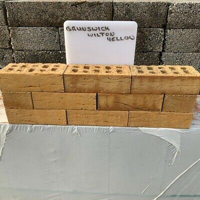 Ibstock Brunswick Wilton Yellow Bricks £600 Per Thousand  • 600£