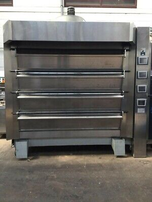 Tom Chandley 4 Deck 32 Tray Bakery Oven BAKERY EQUIPMENT • 16,250£