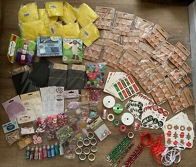 Huge Craft Bundle/joblot/christmas/decoration/craft • 9.99£