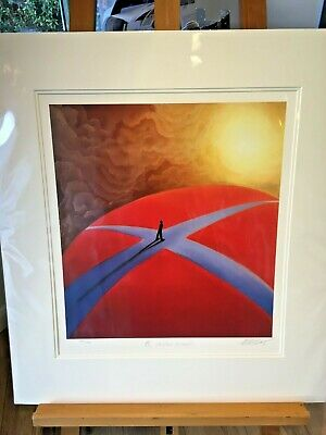 Mackenzie Thorpe Ltd Edition 'A Crossroads' Signed Mounted Brand New With COA • 175£