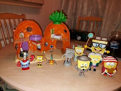 Spongebob Pinapple House  Toys Figures Accessories And Large Figures  • 60£