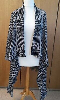 Simply Be Aztec Waterfall Cardigan Size 12/14 • 1.99£