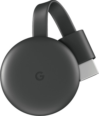AU59 • Buy NEW Google GA00439-AU Chromecast - Charcoal Grey
