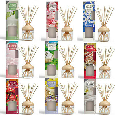 8 Scent Yankee Candle Reed Diffuser Brand New 120ml Up To 10 Weeks Of Fragrance  • 17.99£