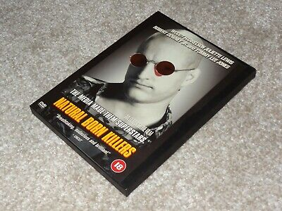 Natural Born Killers DVD (R2, 2001, Box Set) • 5£
