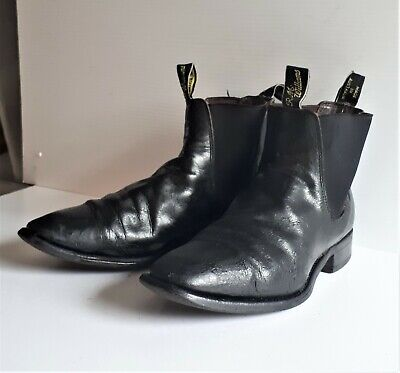 AU36 • Buy R.M. Williams Boot, Size 8.5 G CF - Black - Used