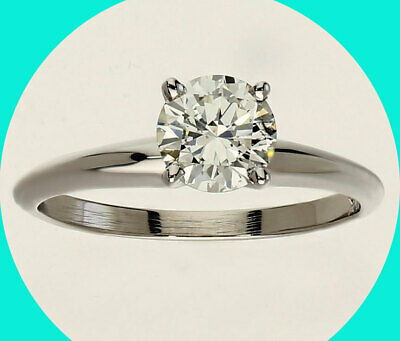 AU1246.64 • Buy New .75CT Solitaire Diamond Engagement Ring 14K W/ Gold Round Brilliant Natural
