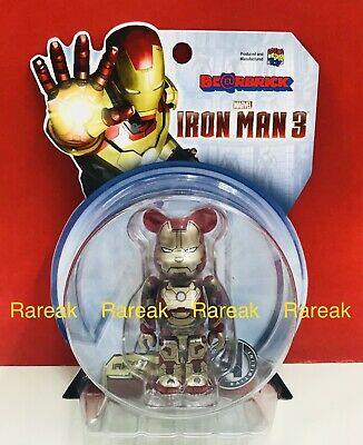 $145.99 • Buy Medicom Be@rbrick 2013 Marvel Iron Man 3 Mark XLII 42 Normal Ver. 100% Bearbrick