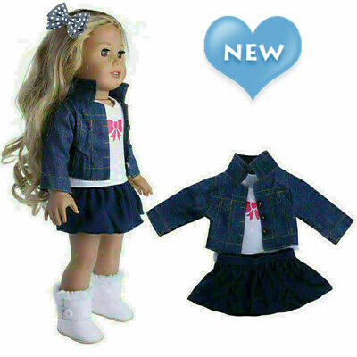 Doll Clothes Dress Outfits Pajames Xmas For 18 Inch American Girl Our Generation • 4.77£