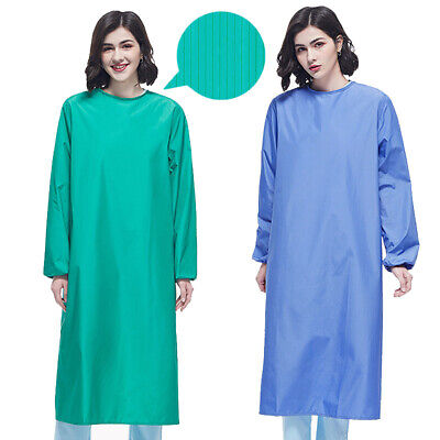 Reusable Surgical Gown Hospital Operation Clothes Doctor Nurse Workwear Uniform • 15.74£