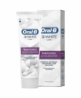 View Details Oral-B 3D White Luxe Whitening Accelerator 75 Ml**FREE DELIVERY** SALE SALE SALE • 3.49£