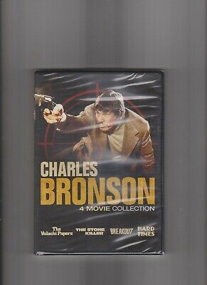Charles Bronson 4 Movie Collection DVD New And Sealed  • 8.99£